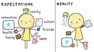 verschil doelen en realiteit